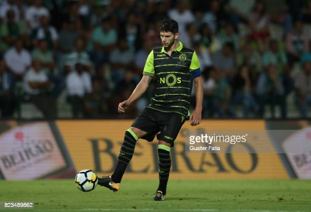 Sporting CP defender Tobias Figueiredo from Portugal in action during PreSeason Friendly match between Sporting CP and Vitoria Guimaraes at Estadio...