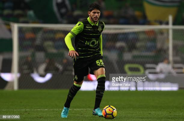 Sporting CP defender Tobias Figueiredo from Portugal in action during the Portuguese Cup match between Sporting CP and Vilaverdense at Estadio Jose...
