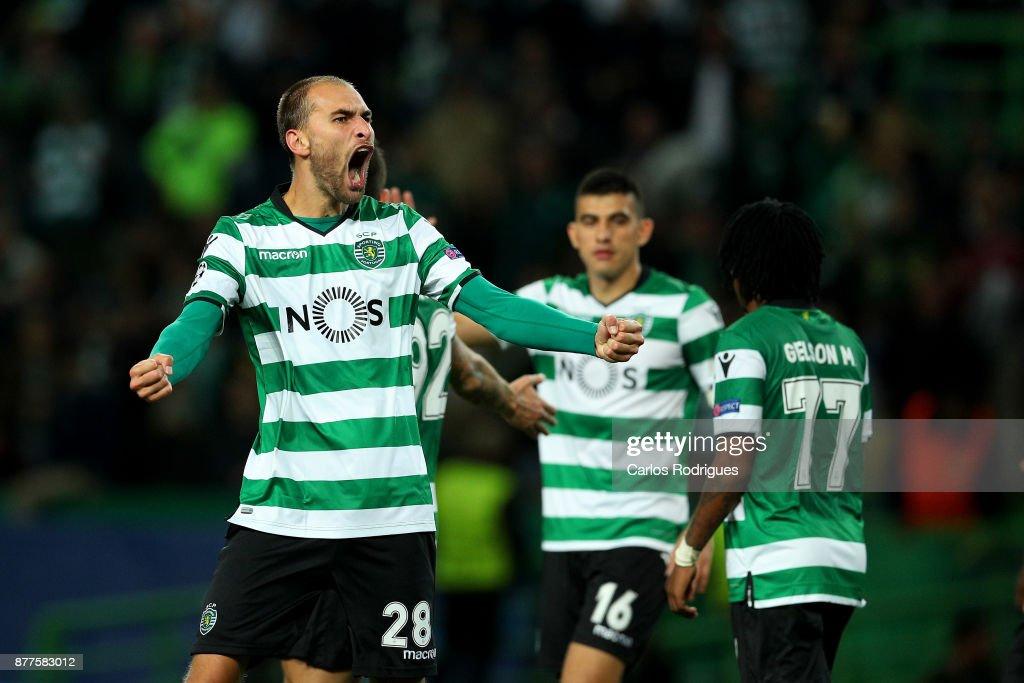 Sporting CP v Olympiakos Piraeus - UEFA Champions League : News Photo