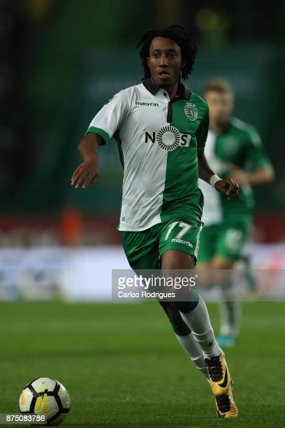 Sporting CP forward Gelson Martins from Portugal during the match between Sporting CP and FC Famalicao for the Portuguese Cup at Estadio Jose...