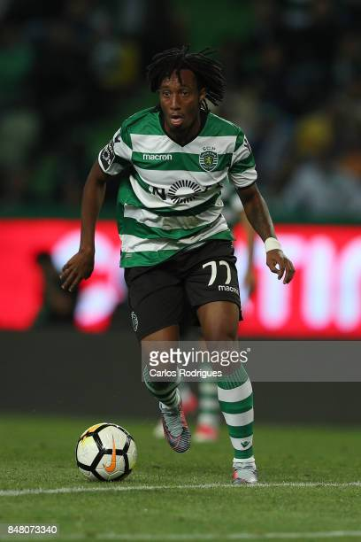 Sporting CP forward Gelson Martins from Portugal during the Portuguese Primeira Liga round 6 match between Sporting CP and CD Tondela at Estadio Jose...