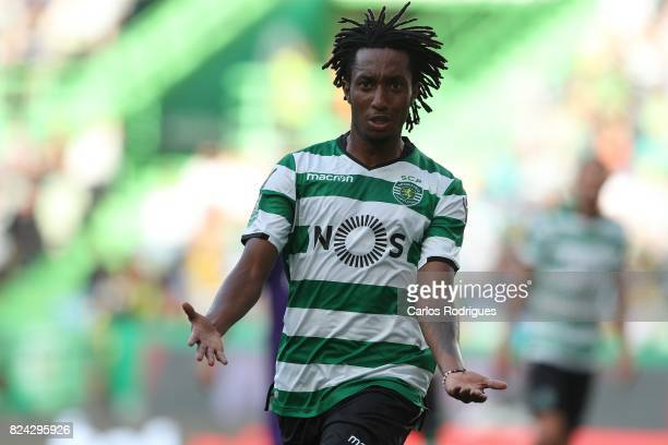 Sporting CP forward Gelson Martins from Portugal reacts during the Five Violins Trophy match between Sporting CP and AC Fiorentina at Estadio Jose...
