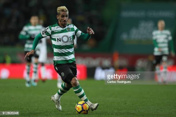 Sporting CP forward Ruben Ribeiro from Portugal during the Portuguese Primeira Liga match between Sporting CP and Vitoria Guimaraes SC at Estadio...