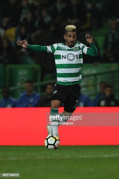 Sporting CP forward Ruben Ribeiro from Portugal during the Portuguese Primeira Liga match between Sporting CP and Rio Ave FC at Estadio Jose Alvalade...