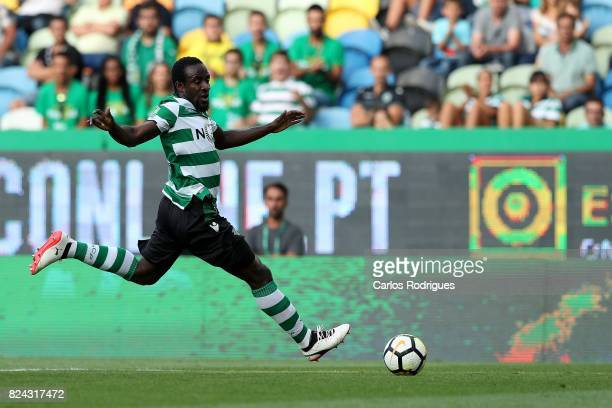 Sporting CP forward Seydou Doumbia from Ivory Coast during the Five Violins Trophy match between Sporting CP and AC Fiorentina at Estadio Jose...
