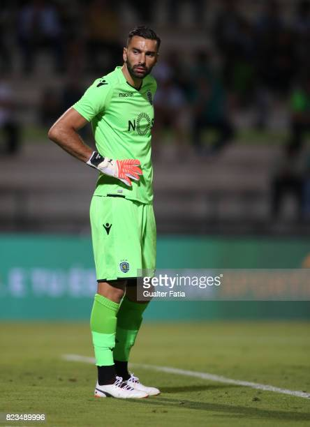 Sporting CP goalkeeper Rui Patricio from Portugal in action during PreSeason Friendly match between Sporting CP and Vitoria Guimaraes at Estadio...