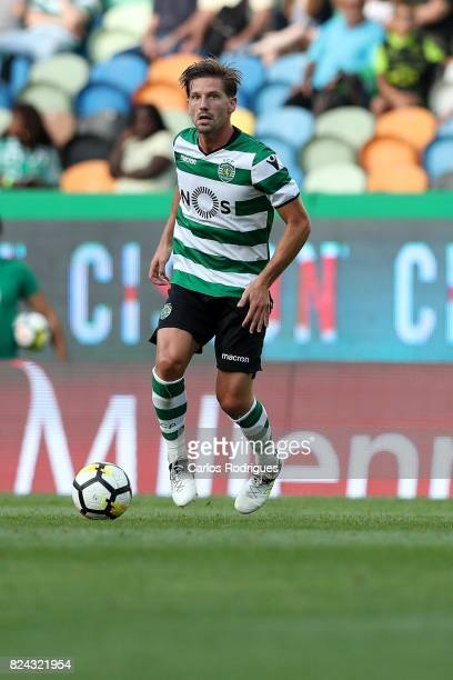 Sporting CP midfielder Adrien Silva from Portugal during the Five Violins Trophy match between Sporting CP and AC Fiorentina at Estadio Jose Alvalade...