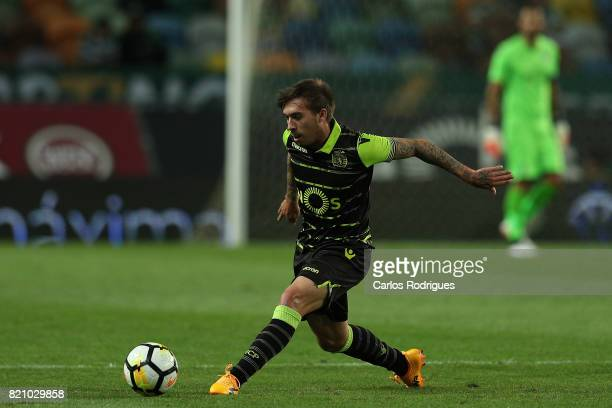 Sporting CP midfielder Iuri Medeiros from Portugal during the Friendly match between Sporting CP and AS Monaco at Estadio Jose Alvalade on July 22...