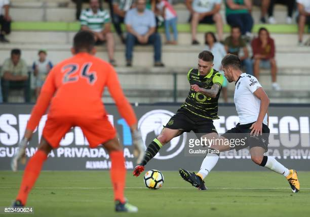 Sporting CP midfielder Iuri Medeiros from Portugal in action during PreSeason Friendly match between Sporting CP and Vitoria Guimaraes at Estadio...