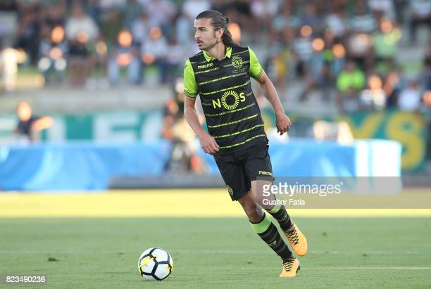 Sporting CP midfielder Matheus Oliveira from Brazil in action during PreSeason Friendly match between Sporting CP and Vitoria Guimaraes at Estadio...