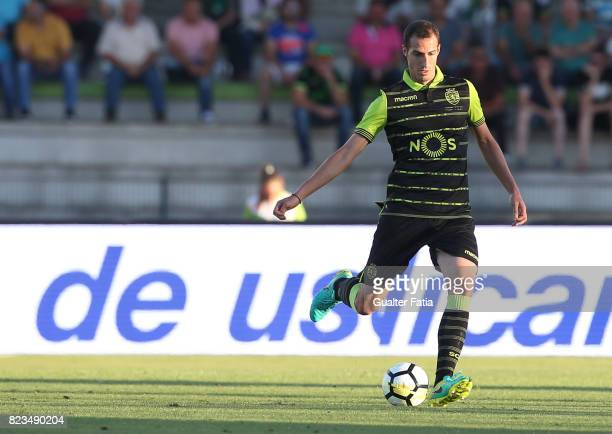 Sporting CP midfielder Radosav Petrovic from Serbia in action during PreSeason Friendly match between Sporting CP and Vitoria Guimaraes at Estadio...