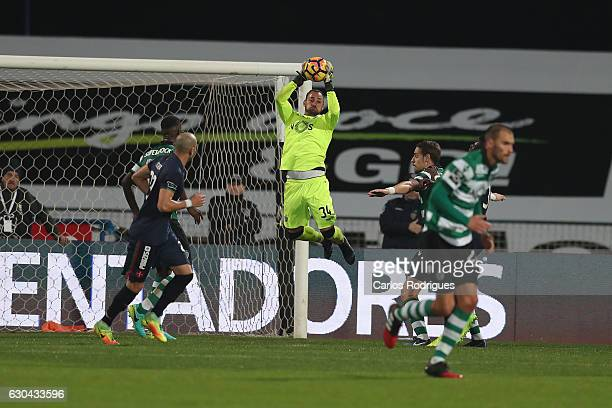 Sporting CPO's goalkeeper Beto from Portugal during the Portuguese Primeira Liga between CFO's Belenenses v Sporting CP Primeira Liga at Estadio do...