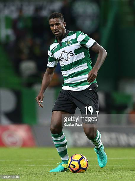Sporting CP's defender Douglas Teixeira from Holland in action during the Primeira Liga match between Sporting CP and SC Braga at Estadio Jose...