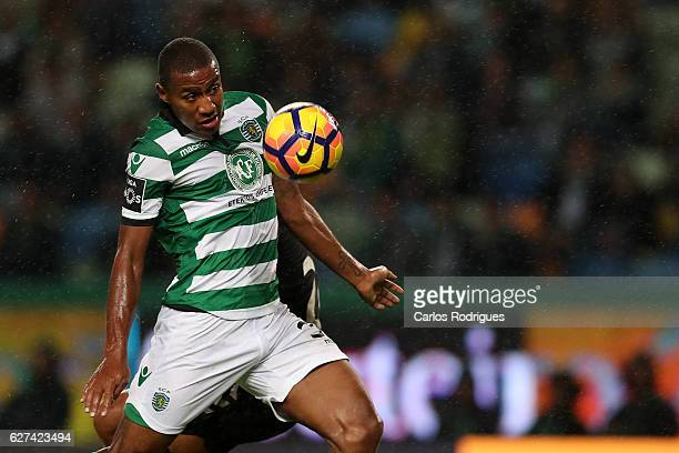 Sporting CP's defender Marvin Zeegelaar from Holland during the Sporting CP v Vitoria de Setubal FC Portuguese Primeira Liga match at Estadio Jose...