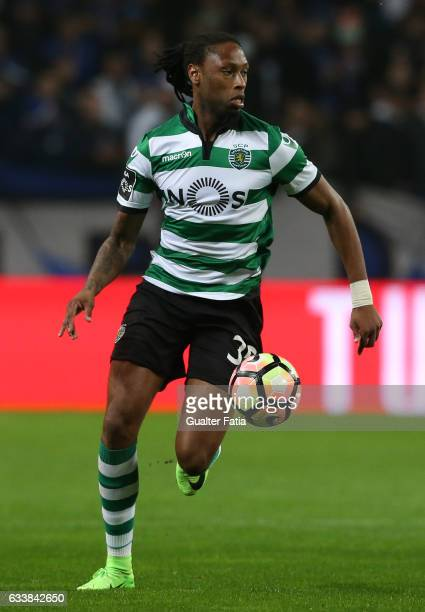 Sporting CPÕs defender Ruben Semedo from Portugal in action during the Primeira Liga match between FC Porto and Sporting CP at Estadio do Dragao on...