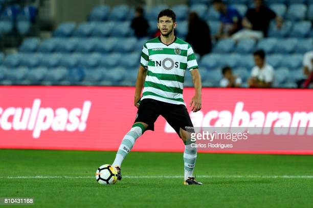 Sporting CP's defender Tobias Figueiredo from Portugal during the PreSeason Friendly match between Sporting CP and CF' Belenenses at Estadio do...
