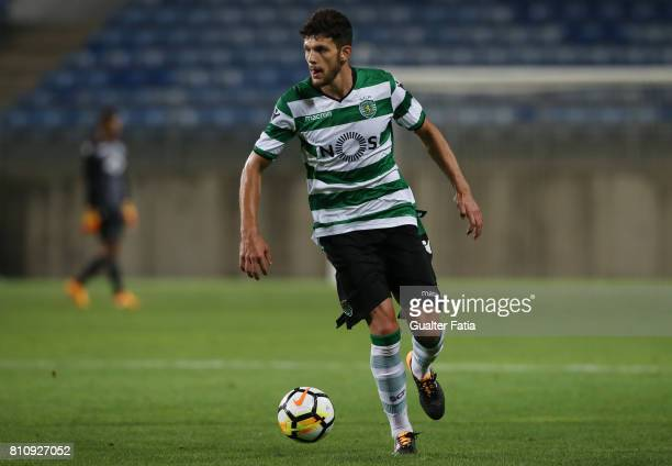 Sporting CPÕs defender Tobias Figueiredo from Portugal in action during the PreSeason Friendly match between Sporting CP and CF Os Belenenses at...