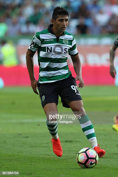 Sporting CP's forward Alan Ruiz from Argentina during the Portuguese Primeira Liga between Sporting CP and Moreirense FC at Estadio Jose Alvalade on...