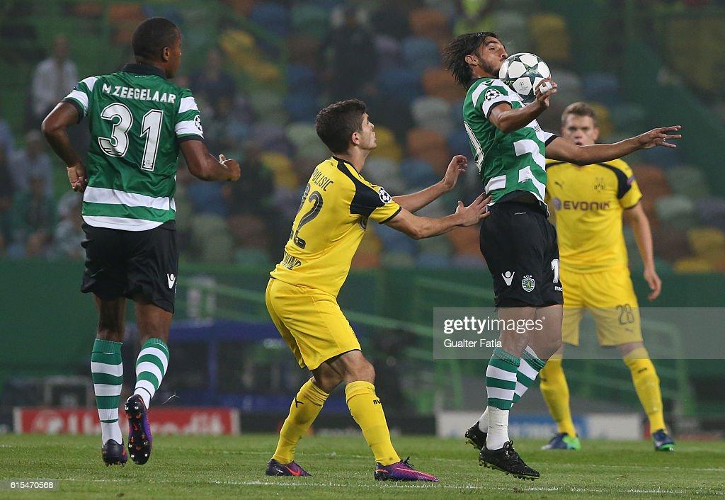Sporting Clube de Portugal v Borussia Dortmund - UEFA Champions League : News Photo