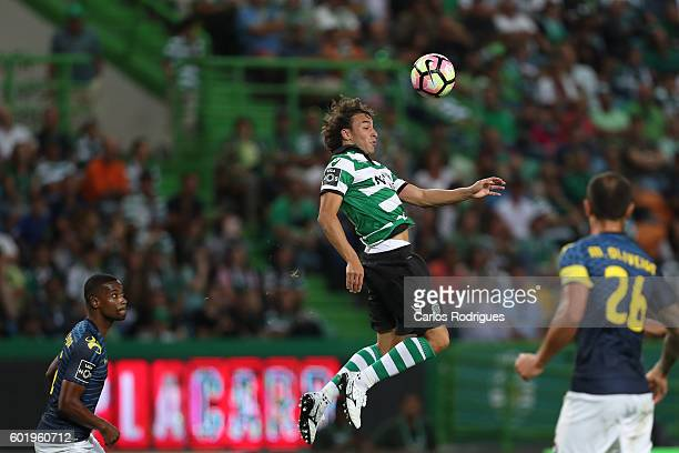 Sporting CP's forward Lazar Markovic from Serbia during the Portuguese Primeira Liga between Sporting CP and Moreirense FC at Estadio Jose Alvalade...