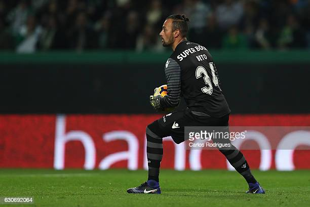 Sporting CP's goalkeeper Beto from Portugal during the Sporting CP v Varzim SC Portuguese League Cup match at Estadio Jose Alvalade on December 30...