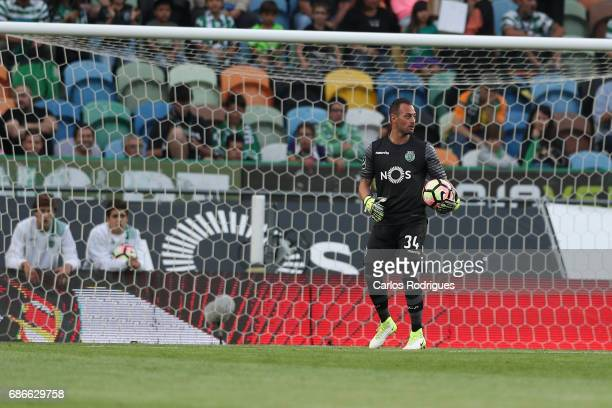 Sporting CP's goalkeeper Beto from Portugal during the Sporting CP v GD Chaves Portuguese Primeira Liga match at Estadio Jose Alvalade on May 21 2017...