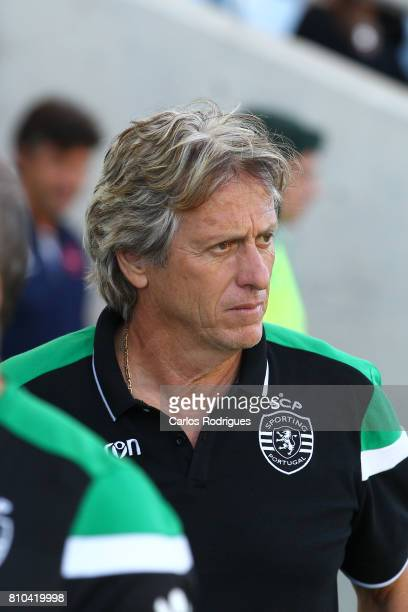 Sporting CPÕs head coach Jorge Jesus from Portugal during the PreSeason Friendly match between Sporting CP and CF's Belenenses at Estadio do Algarve...