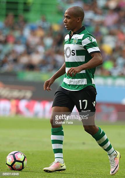 Sporting CPÕs midfielder Joao Mario in action during the Primeira Liga match between Sporting CP and CS Maritimo at Estadio Jose Alvalade on August...