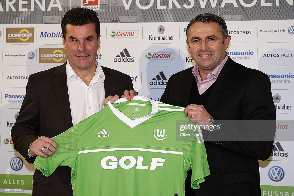 VfL Wolfsburg Presents New Head Coach Dieter Hecking