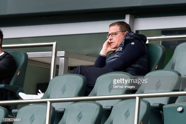 sporting director Max Eberl of Borussia Moenchengladbach looks on during the preseason friendly match between Borussia Monechengladbach and SpVGG...