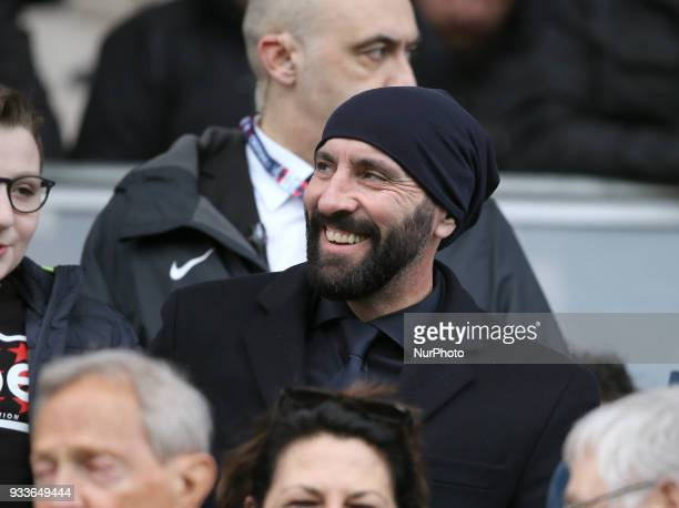 Sporting director of Roma Monchi during the serie A match between FC Crotone and AS Roma at Stadio Comunale Ezio Scida on March 18 2018 in Crotone...
