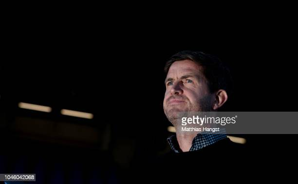 Sporting director Ralf Becker of Hamburg seen prior to the Second Bundesliga match between SV Darmstadt 98 and Hamburger SV at JonathanHeimesStadion...