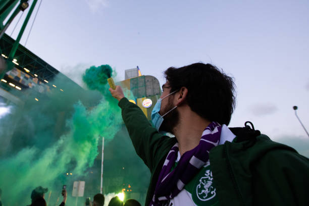 PRT: Sporting CP Celebrates The Primeira Liga Title In Lisbon