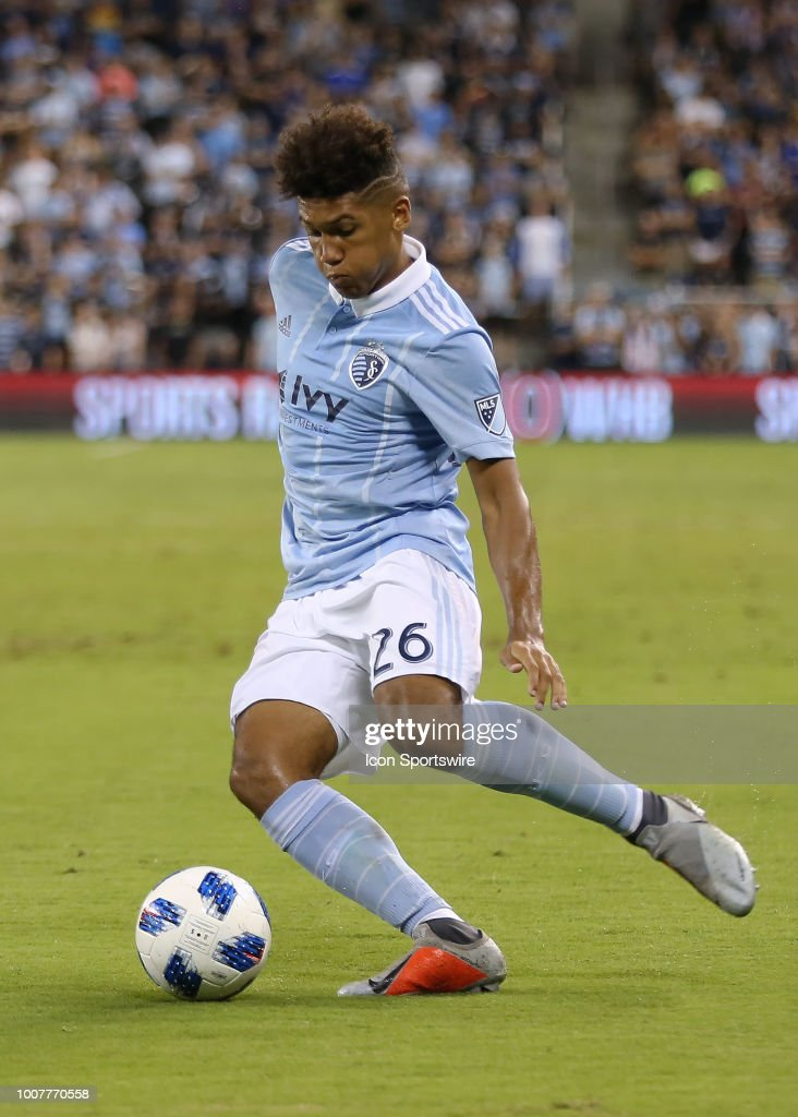 SOCCER: JUL 28 MLS - FC Dallas at Sporting Kansas City : News Photo