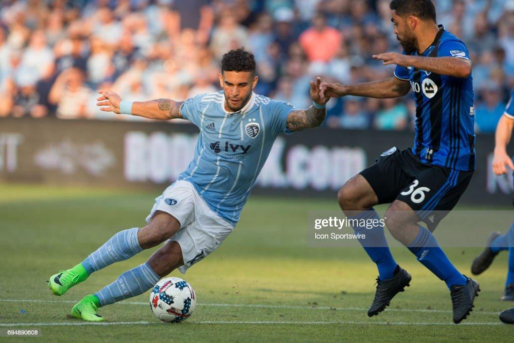 SOCCER: JUN 10 MLS - Montreal Impact at Sporting KC : News Photo