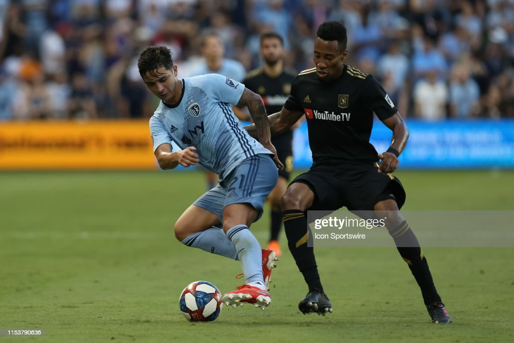 SOCCER: JUL 03 MLS - LAFC at Sporting Kansas City : News Photo