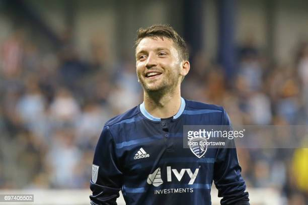 Sporting Kansas City midfielder Ilie Sanchez in the second half of a US Open Cup match between Minnesota United FC and Sporting Kansas City on June...