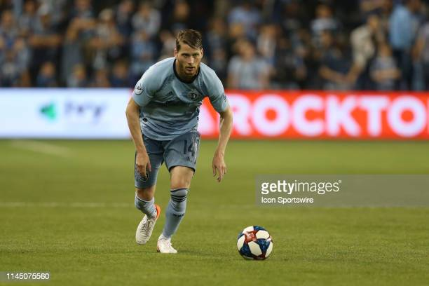 Sporting Kansas City midfielder Nicolas Hasler in the second half of an MLS match between the Vancouver Whitecaps and Sporting Kansas City on May 18,...