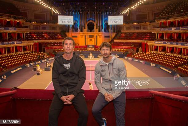 Sporting legends Marat Safin and Juan Carlos Ferrero launch the return of Champions Tennis at the Royal Albert Hall