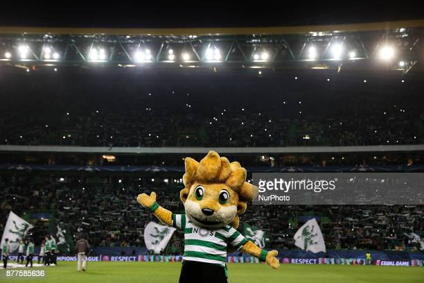Sporting mascot quotJubasquot before the UEFA Champions League group D match between Sporting CP and Olympiacos FC at Alvalade Stadium on November 22...