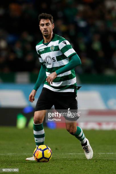 Sporting's defender Andre Pinto during Primeira Liga 2017/18 match between Sporting CP vs CS Maritimo in Lisbon on January 7 2017