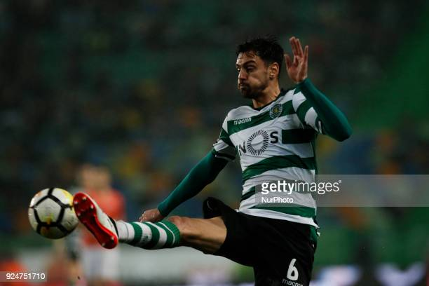 Sporting's defender Andre Pinto in action during Primeira Liga 2017/18 match between Sporting CP vs Moreirense FC in Lisbon on February 26 2017