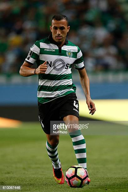 Sporting's defender Jefferson in action during Premier League 2016/17 match between Sporting CP vs Estoril Praia in Lisbon on September 23 2016