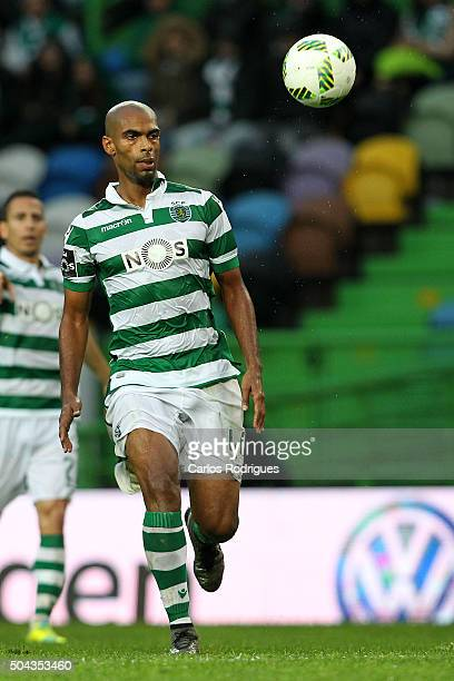 Sporting's defender Naldo during the match between Sporting CP and SC Braga for the Portuguese Primeira Liga at Jose Alvalade Stadium on September 21...