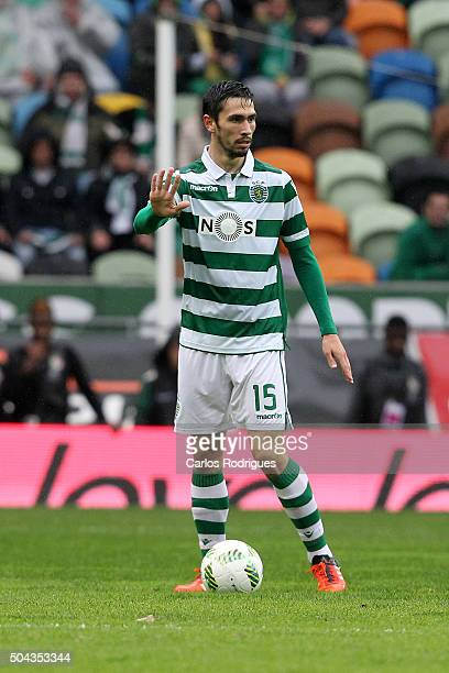 Sporting's defender Paulo Oliveira during the match between Sporting CP and SC Braga for the Portuguese Primeira Liga at Jose Alvalade Stadium on...