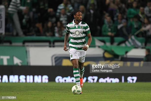 Sporting's defender Ruben Semedo during the match between Sporting CP and Boavista FC for the Portuguese Primeira Liga at Jose Alvalade Stadium on...