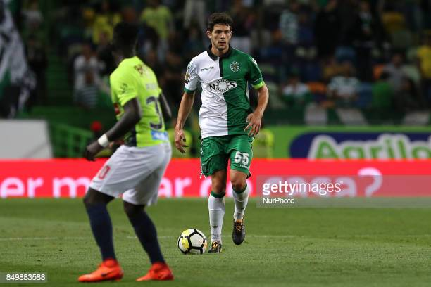 Sportings defender Tobias Figueiredo from Portugal during the Portuguese Cup 2017/18 match between Sporting CP v CS Maritimo at Alvalade Stadium in...