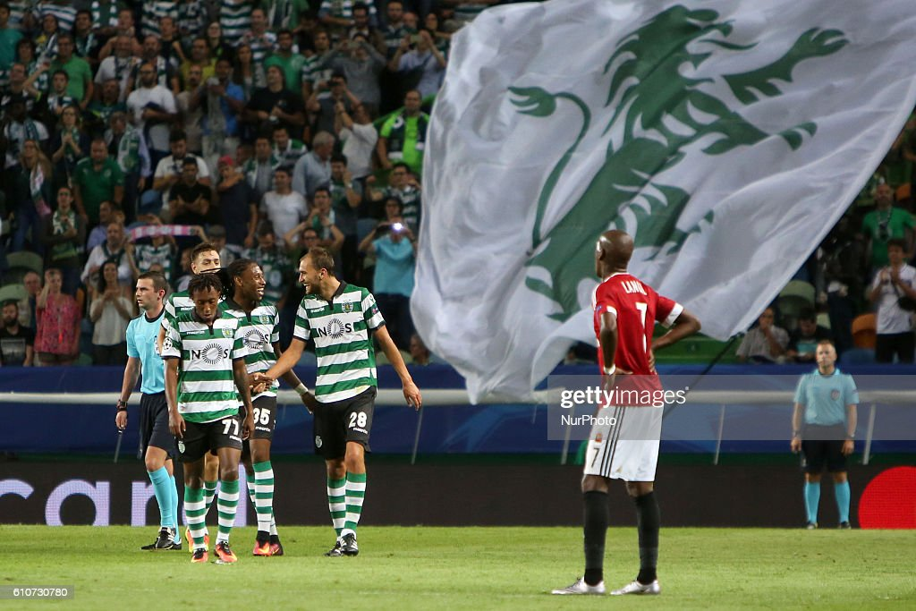 Sporting Clube de Portugal v Legia Warszawa - UEFA Champions League : News Photo