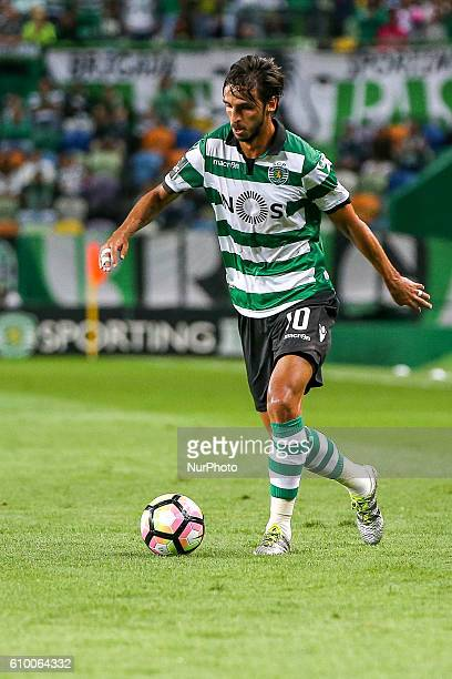 Sportings forward Bryan Ruiz from Costa Rica during Premier League 2016/17 match between Sporting CP and Estoril at Alvalade Stadium in Lisbon on...