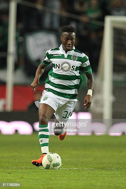 Sporting's forward Carlos Mane during the match between Sporting CP and Boavista FC for the Portuguese Primeira Liga at Jose Alvalade Stadium on...